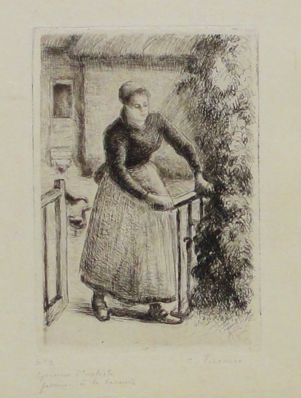 Woman at the Gate