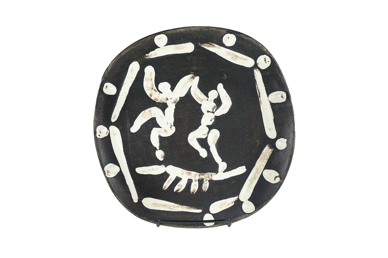 Picasso Madoura Plate of Two Dancers