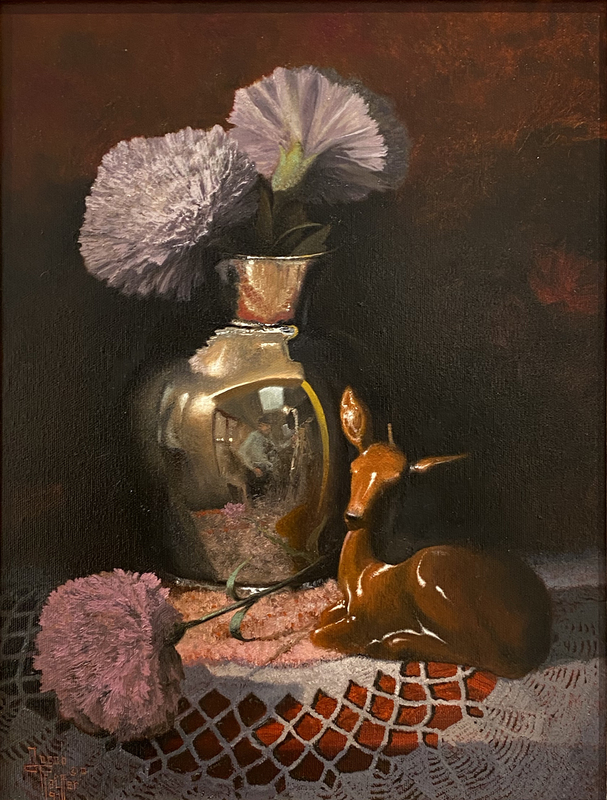Jacob Pfeiffer, Silk Bloom with Candle