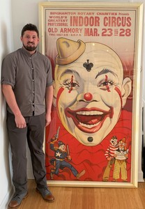 Large Circus Poster