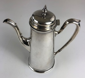Shreve and Co. San Francisco Sterling Teapot