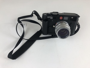 Vintage Leica M6 TTL Rangefinder Camera with Summilux 1:1.4/50 Lens
