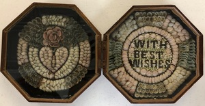 19th Century Double-Sided Sailor's Valentine