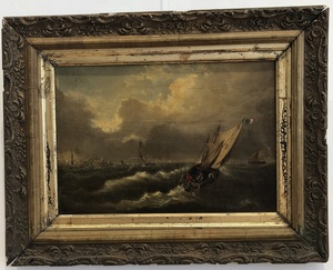 19th Century French Maritime Painting